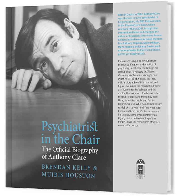 Psychiatrist In The Chair - book front cover